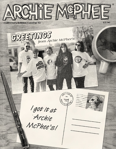 Archie McPhee Catalog Cover #32, 1994