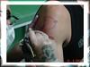 tatuando tubarao no braco TARZIA TATTOO -