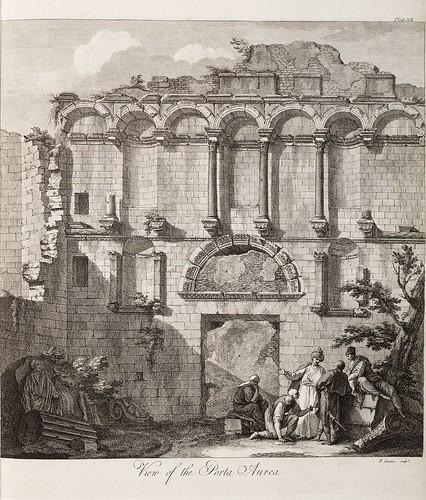 04-Placa XII. . Vista de la Porta Aurea