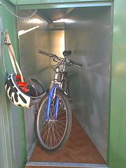 5 bike locker