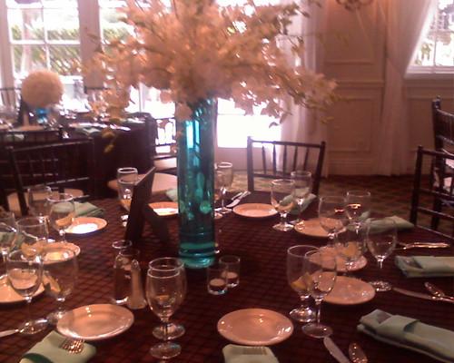 Ronenias Blog A Beautiful Wedding Cake With A Tiffany Blue And