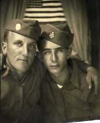 00470 varones (VARONES!) Tags: friends portrait male men vintage soldier army couple uniform buddies friendship affection antique military pals affectionate varones