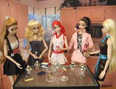 Cassie, Bridget, Fleur, Love, Poppy