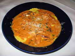 LouCas: Lobster ravioli