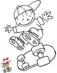 Menino Skate (Lucia Helena Cesar) Tags: feltro desenhos figuras riscos moldes patchcolagem