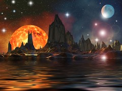Visual Paradox dedicated to Genefleeman (lotusbluelight) Tags: pink blue light red sky favorite orange brown sun moon color reflection art water beautiful night digital stars landscape effects photography mirror rocks message view image screensaver background space horizon creative dream surreal astro cliffs best billboard communication mind posters transparent slideshow visual effect inspiring paradox stardust metaphysical mindboggling boggling besticons lotusbluelight sensationalart meditationtool bestscreensavers dorellarosi
