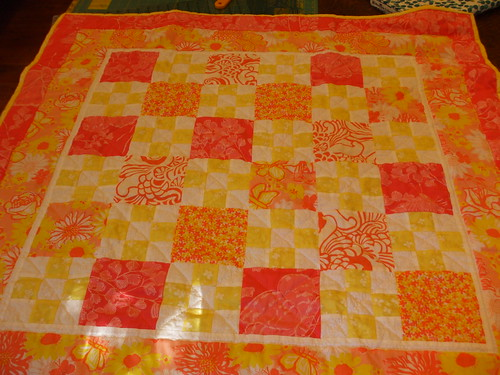 Baby quilt that Pam and Marie made for Pearl