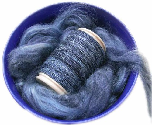 Merino-Tussah Batts