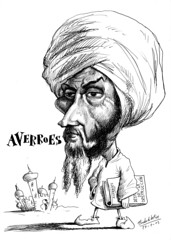 AVERROES (Morales de los Ros) Tags: writers caricaturas philosophers caricatures escritores filsofos