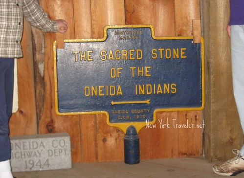 Sacred Oneida Stone Marker