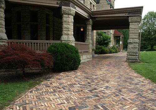 Newcomb House and Driveway