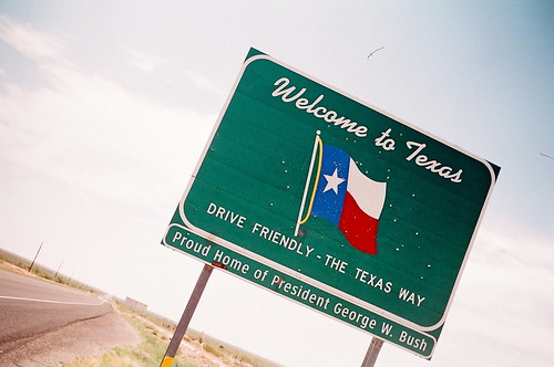 welcome to texas!