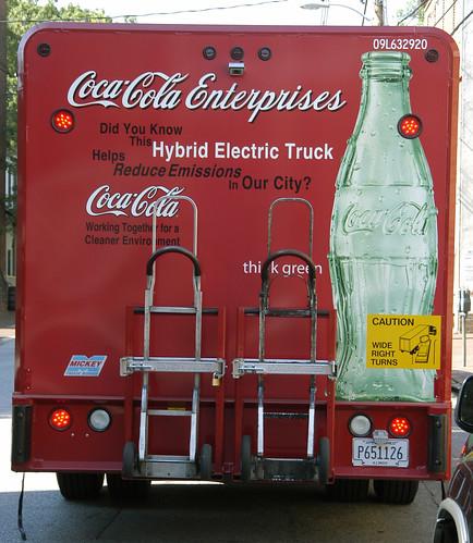 Hybrid Coca Cola Truck, Annapolis 062151