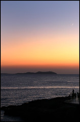 Ibiza - after sunset (Jan Ronald Crans) Tags: sunset silhouette sanantonio zonsondergang spain ibiza spanje