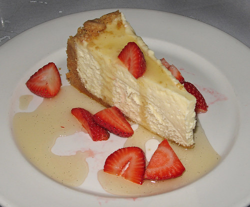 Creole Cream Cheesecake with Louisiana Strawberries