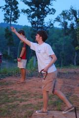 DSC_0038 (RandomConnections) Tags: students ironman darts horseshoes furman summerresearch