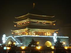 Bell Tower #1 (Fundo de Garrafa) Tags: china belltower xian nightsafari