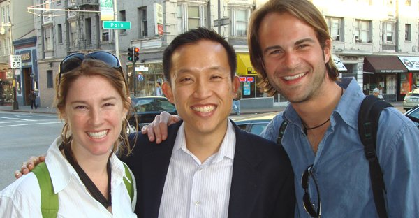 David Chiu With District 3 Neighborhood Leaders On Polk Street in San Francisco.