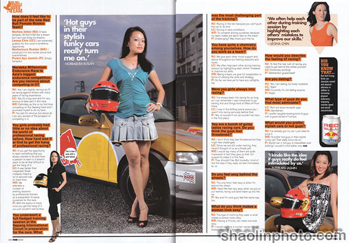 Red Bull Rookies in FHM Malaysia