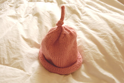 Pink hat is done!