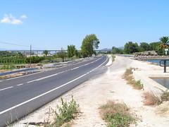 Amposta, carretera TV-3443a