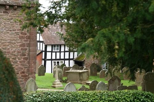 English Country Churchyard