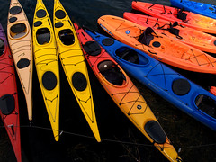 Kayaks for rent in Rockport, Massachusetts