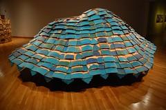 """Hovercraft"" detail 3 (TelegraphArt) Tags: blue tom ceramics korea architectural shannon 2008 hovercraft gimhae clayarch"
