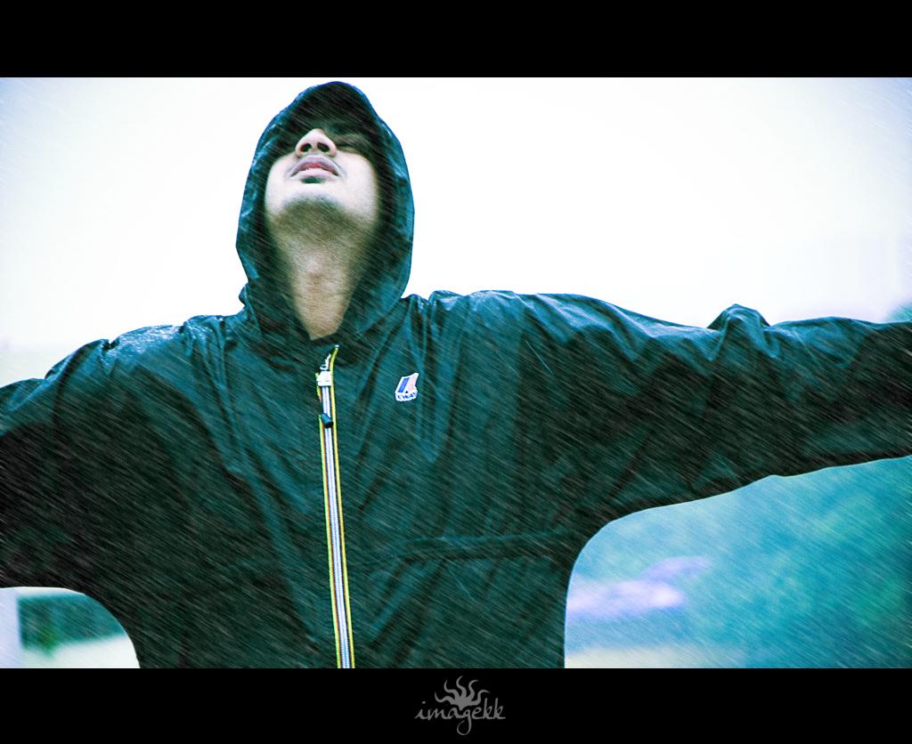 Give me rain... give me pain... I'll still live life... love life....