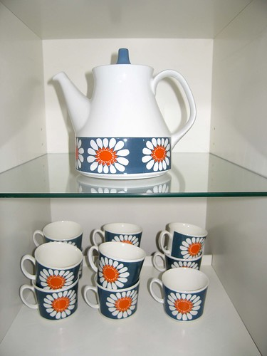 Daisy porcelain from Figgjo Flint