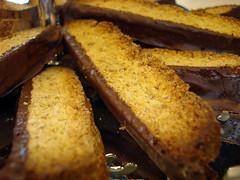 chocolate dipped biscotti (tastes.like.yum) Tags: vegan biscotti veganomicon chocolatedippedbiscotti