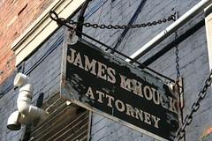 Sign - Attorney188 Greencastle, Indiana (Badger 23 / jezevec) Tags: old sign antique indiana worn 2008 muestra greencastle attorney signe zeichen segno signo znak    teken  tegn   20080812    lindiana sinal   badger23 s