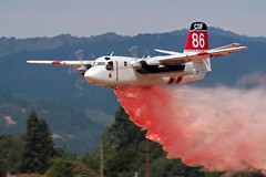 CAL FIRE S-2T (mvonraesfeld) Tags: california museum plane airplane observation flying airport aircraft aviation air flight drop airshow bronco santarosa firefighter 2008 tracker cdf pcam spotter ov10 retardant s2t wingsoverwinecountry calfire pacificcoastairmuseum