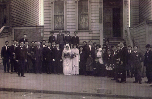 Wedding at 2123 Bush Street, 1911