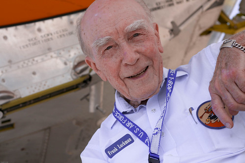 Frank Luckman, WW II veteran