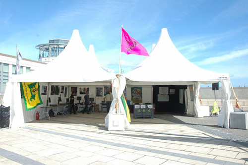 Camaras Harbour Plaza stand