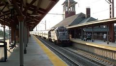 Engine 4104 at Newark Broad Street Station