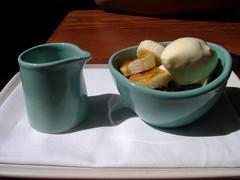 DSCF4779 (soleilune) Tags: birthday food dessert milk bananas icecream vegetarian napa 2008 ubuntu feuilletine