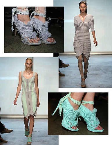 ohne titel mint grey heels spring 2009 rtw runway collection