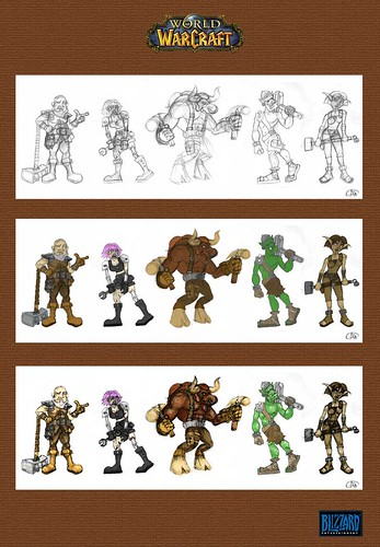Warcraft Blacksmith Designs