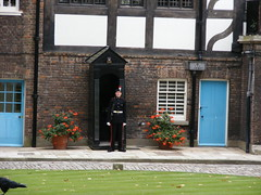 tower of london/ gaurd outside royal residents (top_gun_1uk) Tags: uk england london tower castle castles king towers royal palace queen queens kings henryviii toweroflondon royalpalace cityoflondon henrytheeighth royalresidents