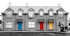 which door? (adudi) Tags: door blue ireland red dublin house building home colors yellow clouds grey nikon shot north belfast shot2 porte colori donegal irlanda armagh platinumphoto nikond40 elitephotography dazzlingshots adudi