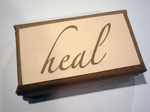 Laser Letters: heal