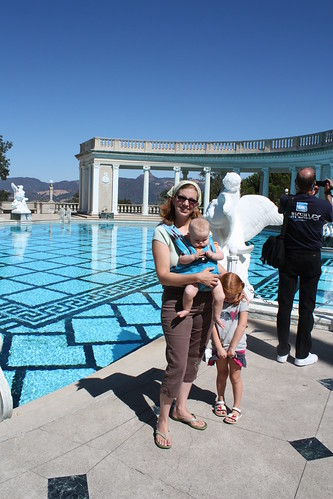 Us in front of the Neptune Pool
