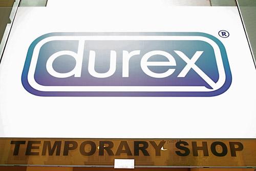 Durex Temporary Store