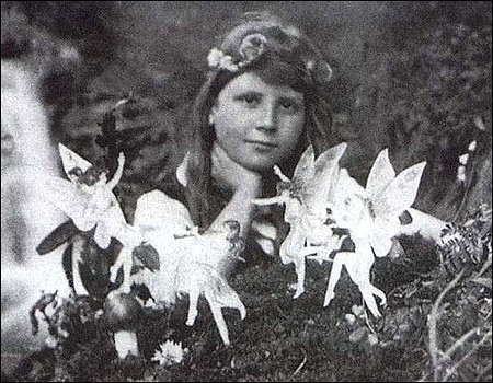 real pics of fairies. was a real fairy amongst
