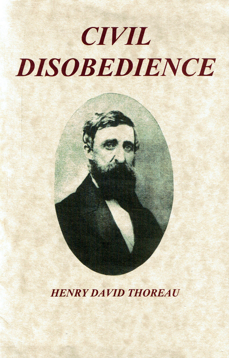 ... OF THOREAU. With his 1849 essay Civil Disobedience | Antonio Frasconi
