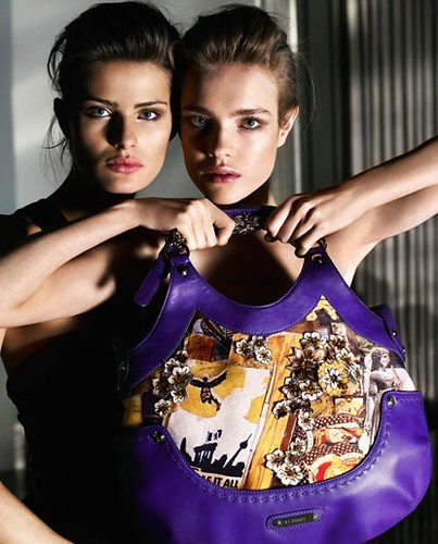 Natalia Vodianova and Isabeli Fontana photo