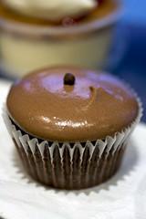 Triple chocolate cupcake