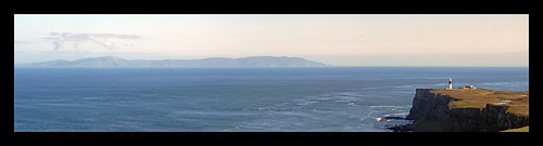 Kintyre-Rathlin Panorama